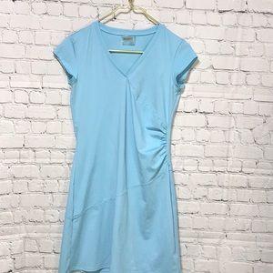 ATHLETA Stretch Dress Baby Blue XSP